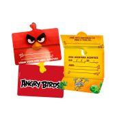 Convite Angry Birds Filme 8 Un