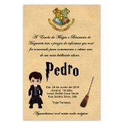Convite Personalizado Harry Potter 15x10