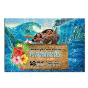Convite Personalizado Moana e Maui 10x15