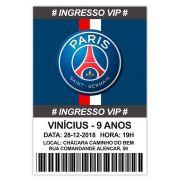 Convite Personalizado Paris Saint-Germain 15x10