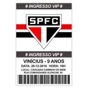 Convite Personalizado São Paulo  15x10