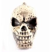 Crânio Decorativo de Halloween com Som e Luz