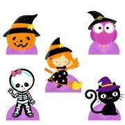 Display de Halloween para Decoração de Mesa