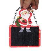 Enfeite MDF Para Pendurar Papai Noel