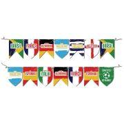 Bandeirinhas Copa do Mundo Seleções Campeãs - 8 Unidades