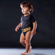 Fantasia Body Bebê Batman com Capa
