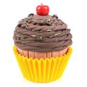 Forminha Cupcake Amarelo 45Un