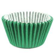 Forminha Cupcake Verde Escuro 45Un