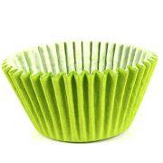 Forminha Cupcake Verde Limão 45Un