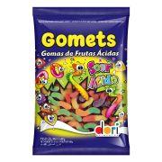 Goma Gomets Minhocas Ácidas 600g Dori