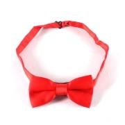 Gravata Borboleta Cetim Vermelha