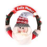 Guirlanda de Natal com Enfeite Papai Noel