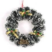Guirlanda de Natal Nevada Merry Christmas - 25cm