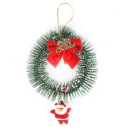 Guirlanda Papai Noel 14cm