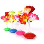 Kit 15 Abajoures Enfeites De Mesa Flor Coloridos