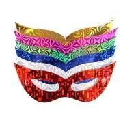 Kit 25 Máscara Holográfica Gatinha