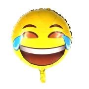 Kit 3 Balões De Emoji + 1 Bomba Para Inflar Balões