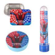 Kit 45 Itens Lembrancinhas Personalizadas Homem Aranha