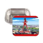 Kit 45 Lembrancinha Marmitinha Personalizada Ladybug