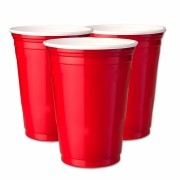 Kit 50 Copos Red Cup 400ml Party