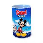Kit 50 Lembrancinha Cofrinho Personalizado Mickey