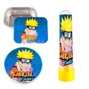 Kit 75 Itens Lembrancinhas Personalizadas Naruto