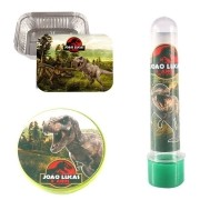 Kit 90 Itens Lembrancinhas Personalizadas Dinossauros