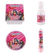 Kit Com 120 Lembrancinhas Pers Dc Super Hero Girls