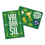 Kit Decoração Brasil Festa Copa do Mundo 2018
