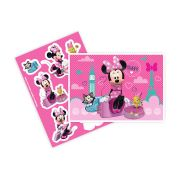Kit Decorativo Minnie Rosa Un