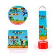Kit Festa Lembrancinha Personalizadas 30 Itens Super Mario