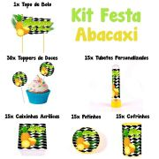 Kit Festa Tema Abacaxi