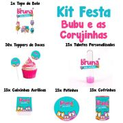 Kit Festa Tema Bubu e as Corujinhas