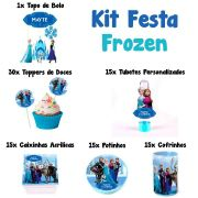 Kit Festa Tema Frozen