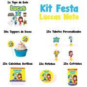 Kit Festa Tema Luccas Neto