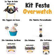 Kit Festa Tema Overwatch
