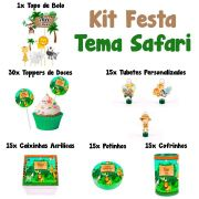 Kit Festa Tema Safari