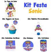 Kit Festa Tema Sonic