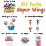 Kit Festa Tema Super Wings