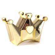 Caixa Coroa de Princesa Dourada