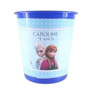 Lembrancinha Balde de Pipoca Personalizado Frozen