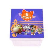 Lembrancinha Caixa Acrílica Personalizada 44 Gatos