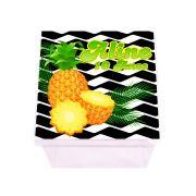 Lembrancinha Caixa Acrílica Personalizada Abacaxi