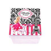 Lembrancinha Caixa Acrílica Personalizada Barbie
