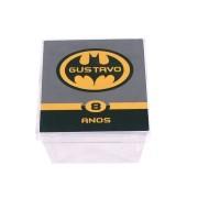 Lembrancinha Caixa Acrílica Personalizada Batman