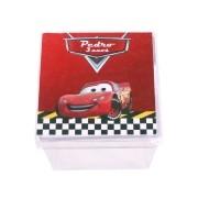 Lembrancinha Caixa Acrílica Personalizada Carros Disney