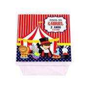 Lembrancinha Caixa Acrílica Personalizada Circo