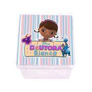 Lembrancinha Caixa Acrílica Personalizada Doutora Brinquedos