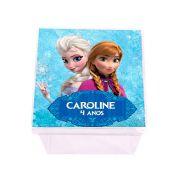 Lembrancinha Caixa Acrílica Personalizada Frozen