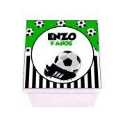 Lembrancinha Caixa Acrílica Personalizada Futebol